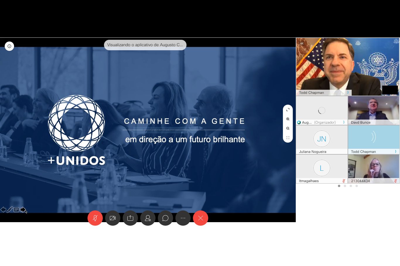 +UNIDOS PROMOTES ONLINE MEETING WITH US COUNCIL AND AMBASSADOR
