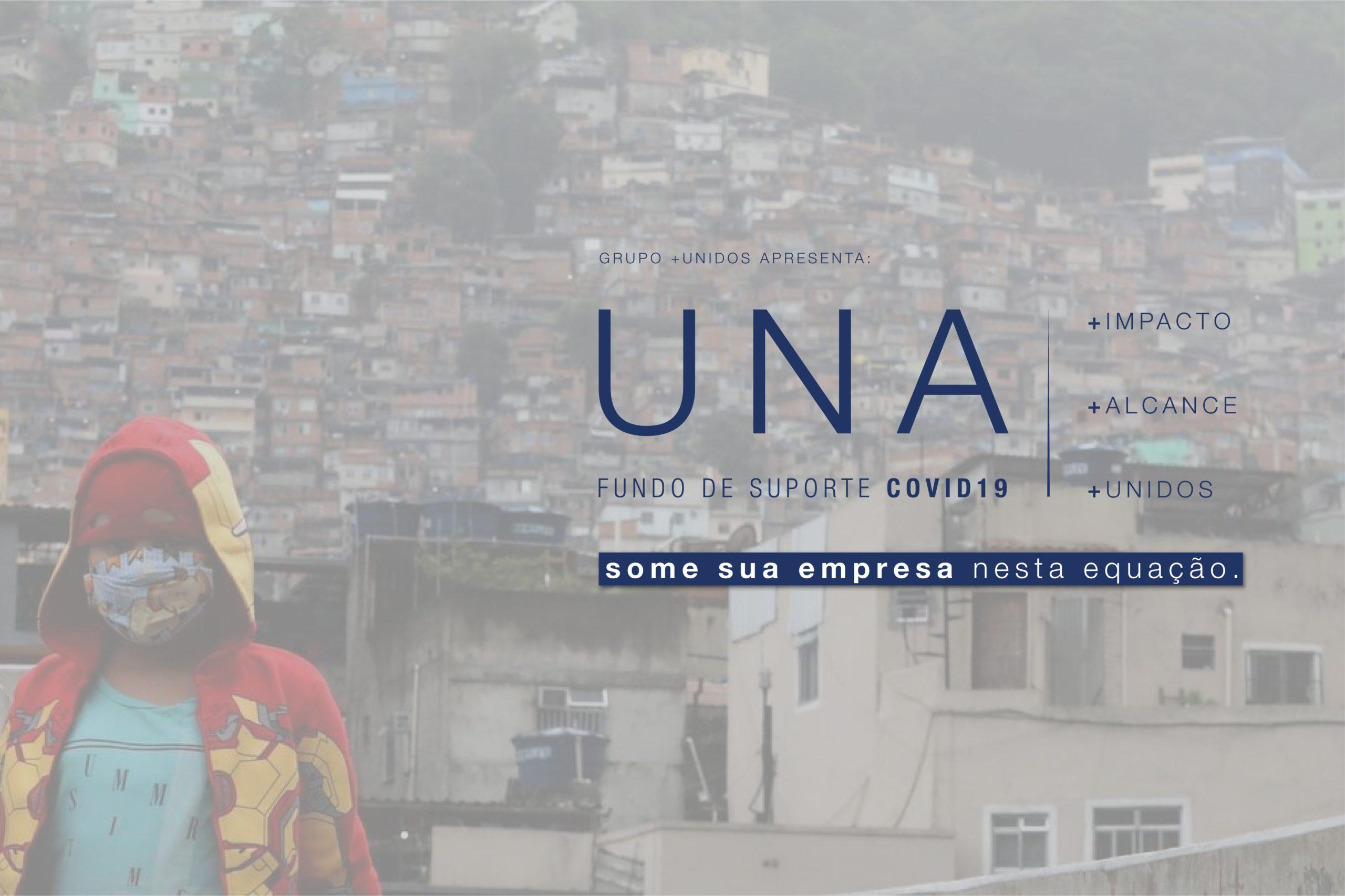 GRUPO +UNIDOS LIDERA ARRECADAÇÃO DE R$ 5 MILHÕES PARA MITIGAÇÃO DOS EFEITOS DA PANDEMIA DO NOVO CORONAVÍRUS EM COMUNIDADES VULNERÁVEIS