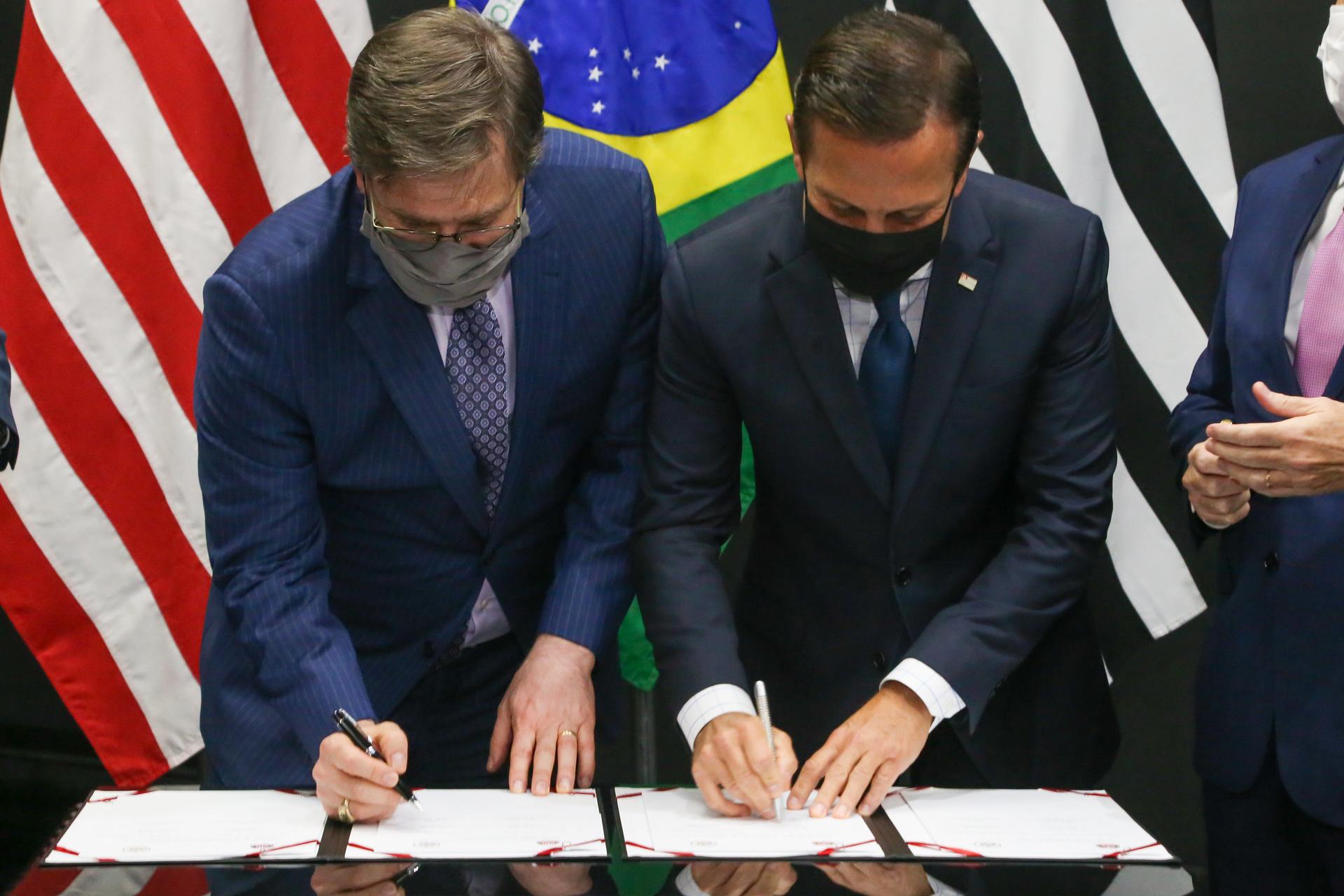 GOVERNO DE SÃO PAULO ASSINA ACORDO DE COOPERAÇÃO COM EUA