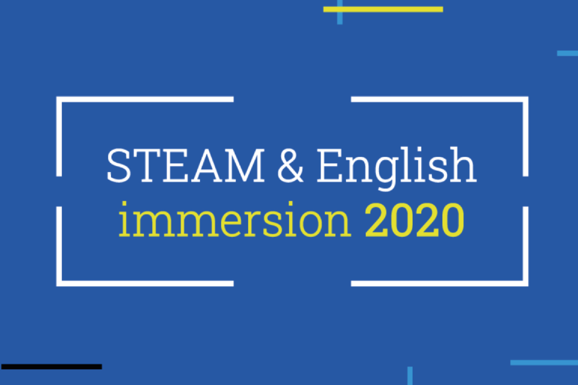 VIRTUAL STEAM AND ENGLISH IMMERSION PROGRAM BRINGS TOGHETER STUDENTS AND TEACHERS ALL OVER THE COUNTRY