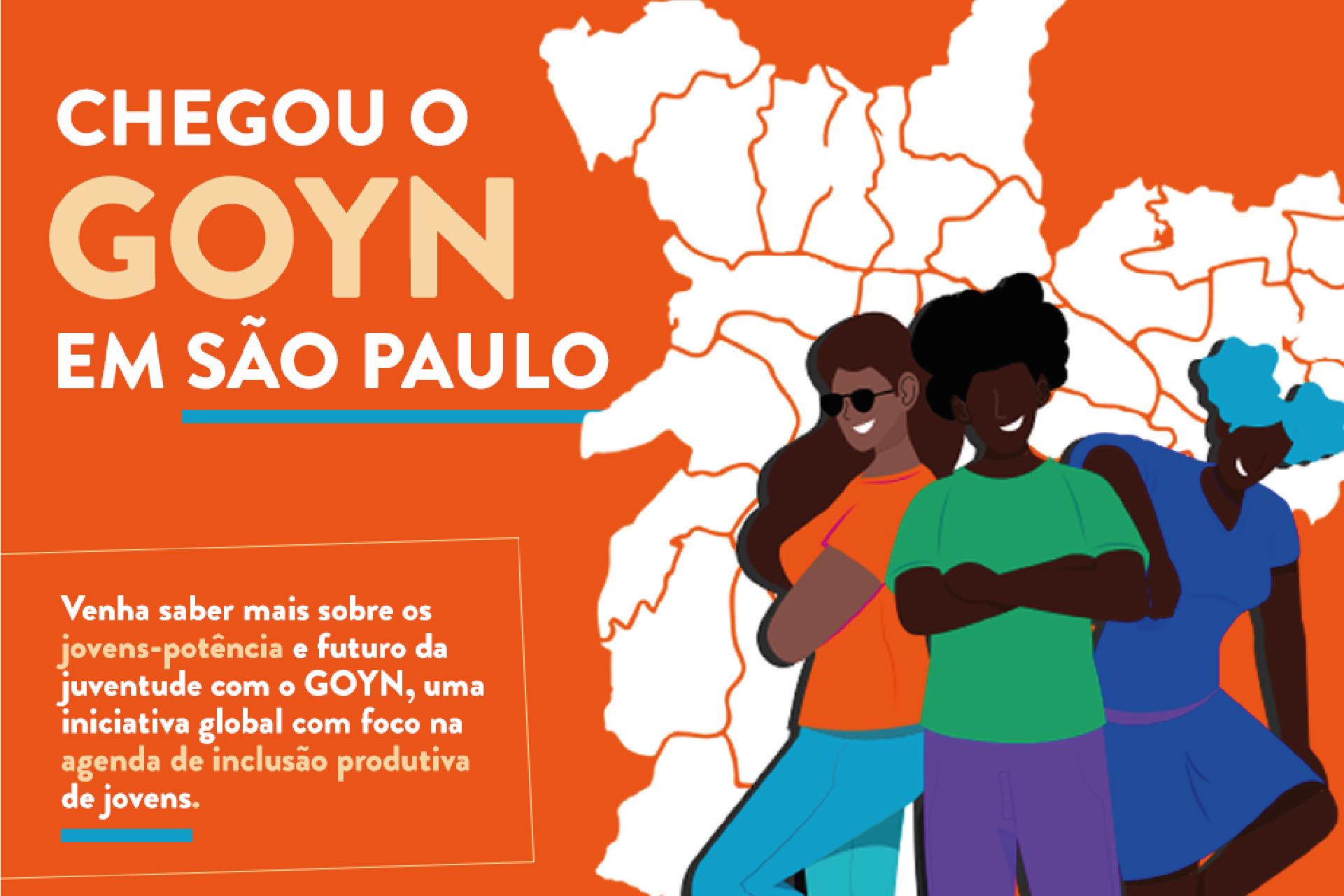 PROGRAMA GOYN SÃO PAULO APRESENTA SOLUÇÕES PARA A EMPREGABILIDADE DE JOVENS DA PERIFERIA EM EVENTO ONLINE E GRATUITO