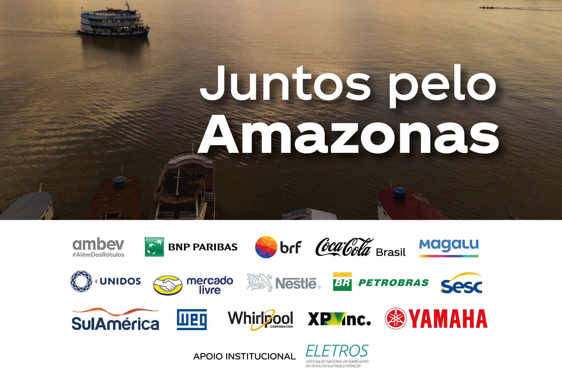 COMPANIES COME IN SOLIDARY ACTION TO HELP AMAZONAS