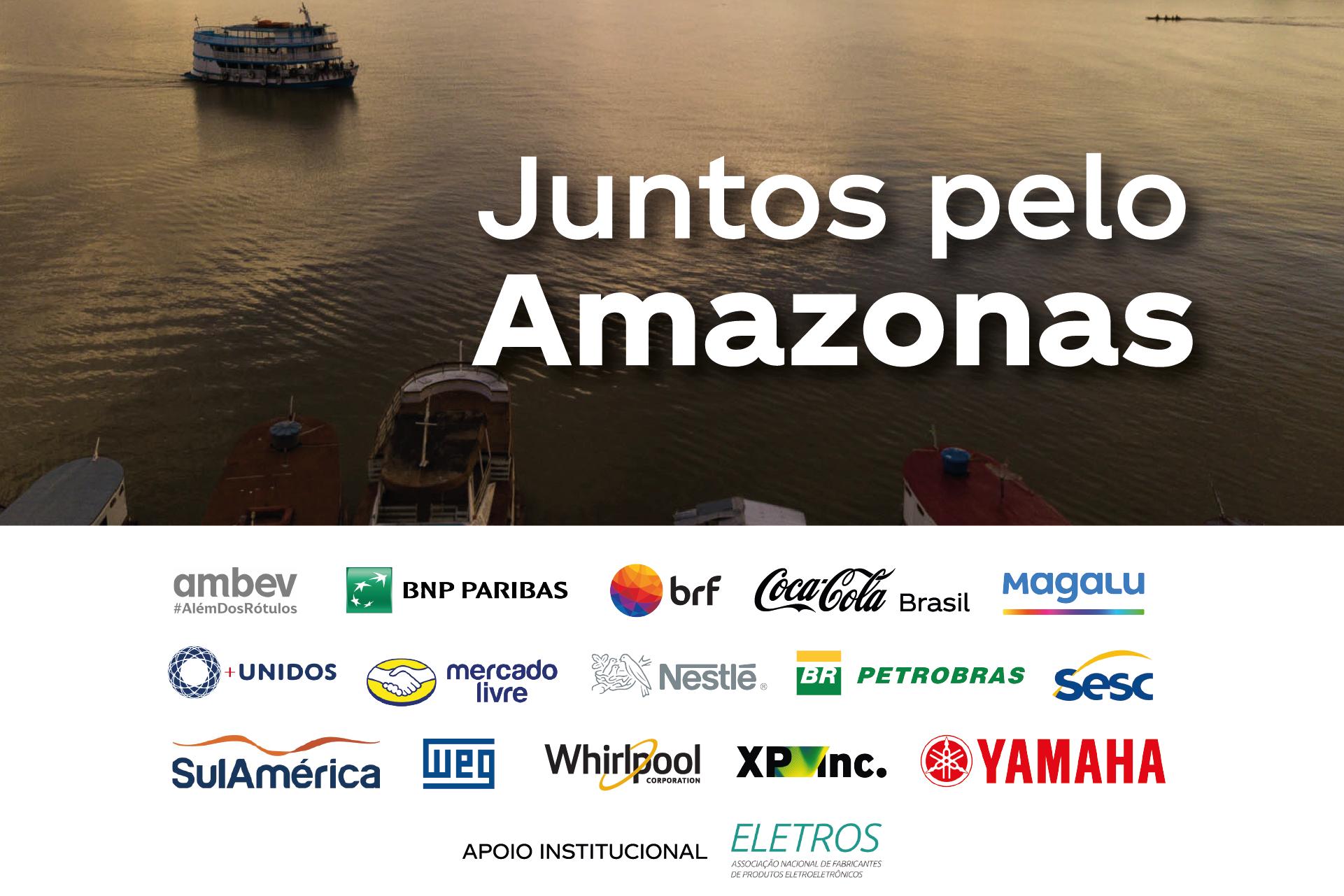 EMPRESAS SE UNEM EM AÇÃO SOLIDÁRIA PARA AJUDAR O AMAZONAS
